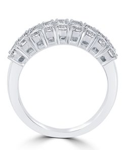 18Kt White Gold Anniversary Ring