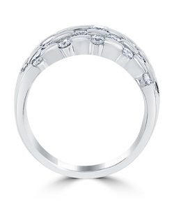 18Kt White Gold Anniversary Band
